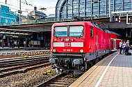 Regionalexpress nach Büchen im Hamburger Hauptbahnhof